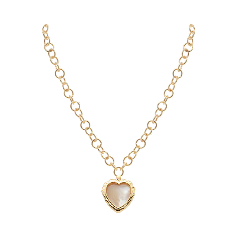 Heart Pendent Chain Necklace